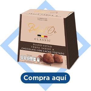 Trufas sabor chocolate