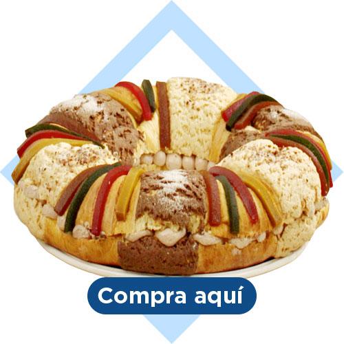 rosca de Reyes gourmet
