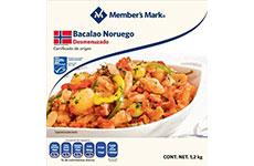 Bacalao Noruego, lomo sin piel. 2 kg Member's Mark.