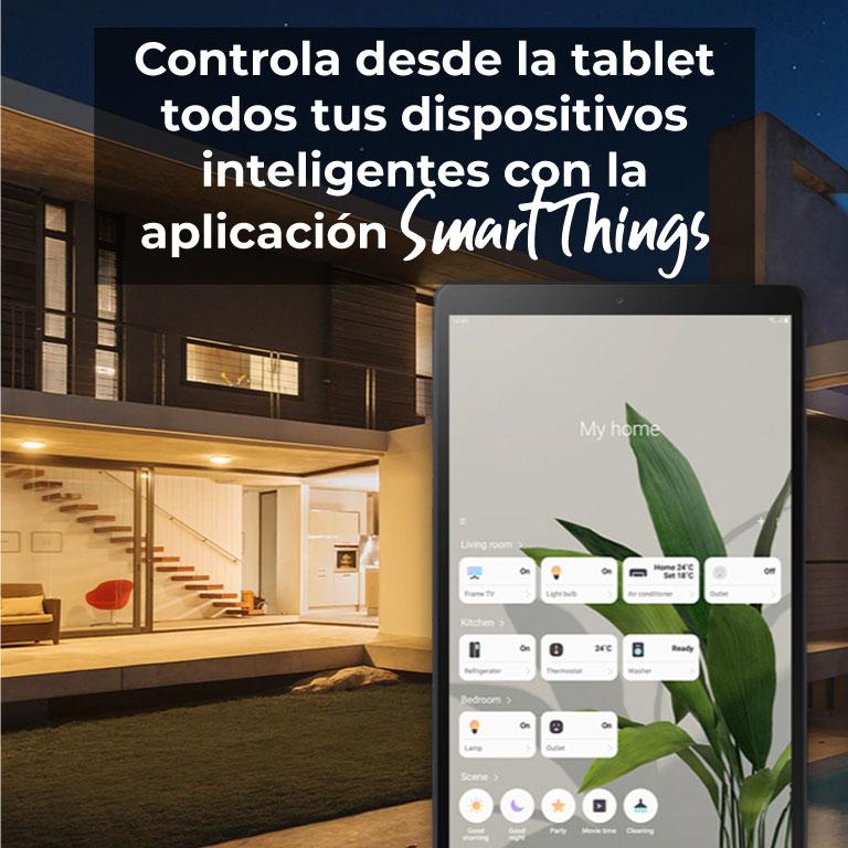 Controla desde la tablet todos tus dispositivos inteligentes con la aplicación Smart Things
