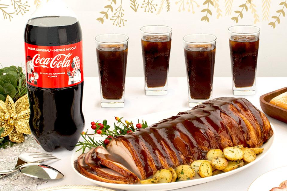Lomo con Coca Cola