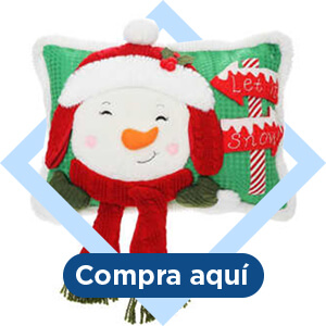 Cojín navideño muñeco de nieve Member's Mark