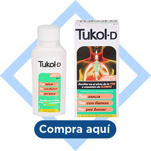Jarabe para la Tos Tukol-D Adulto 2 pzas con 125 ml.