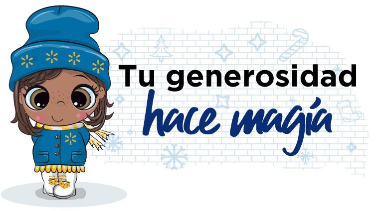 Tu generosidad hace magia