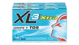 XL-3 extra, 24 cápsulas