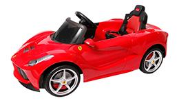 Vehículo eléctrico Ferrari de lujo, Rastar