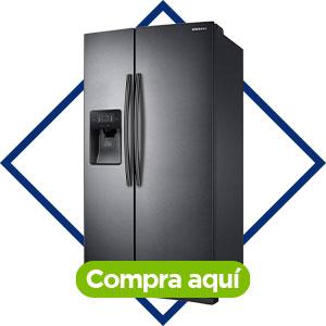 Refrigerador dúplex black, Samsung