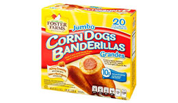 Corn dog de pollo, 20 pzas. Foster Farms.