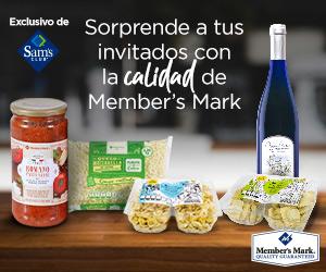 Anuncio Member's Mark: Sorprende a tus invitador con la calidad de Member's Mark