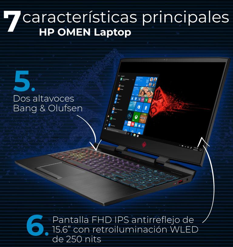 "Pantalla FHD IPS de 15.6"". Altavoces Bang & Olufsen."