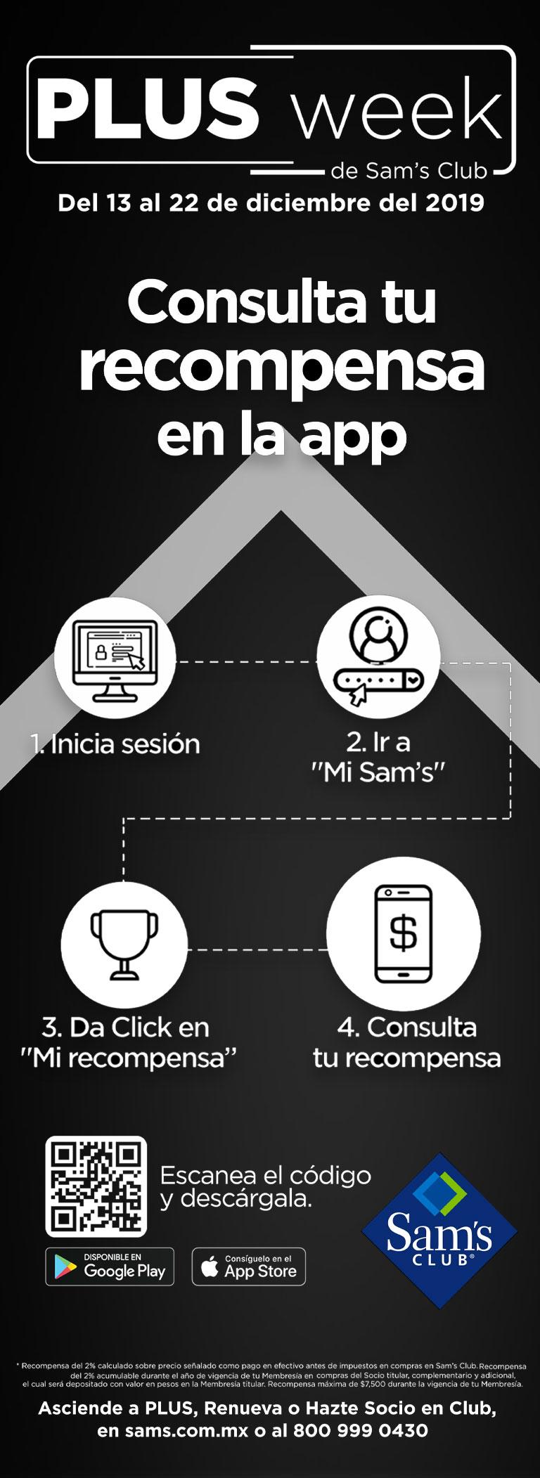 Consulta tu recompensa en la app