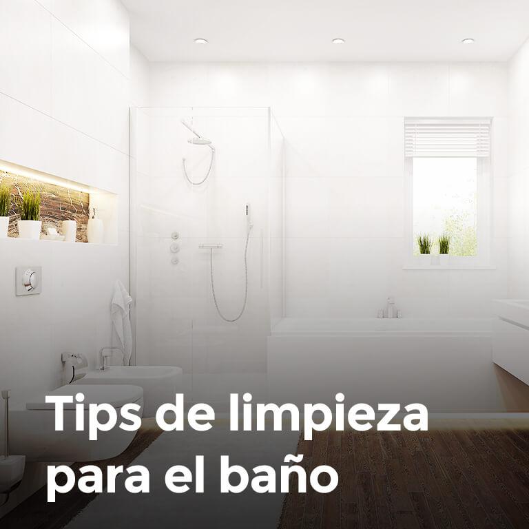 Tips de limpieza para el baño