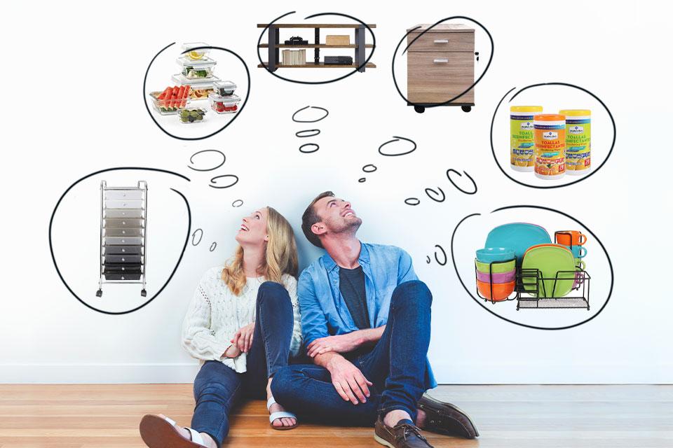 Reorganiza tu hogar fácilmente