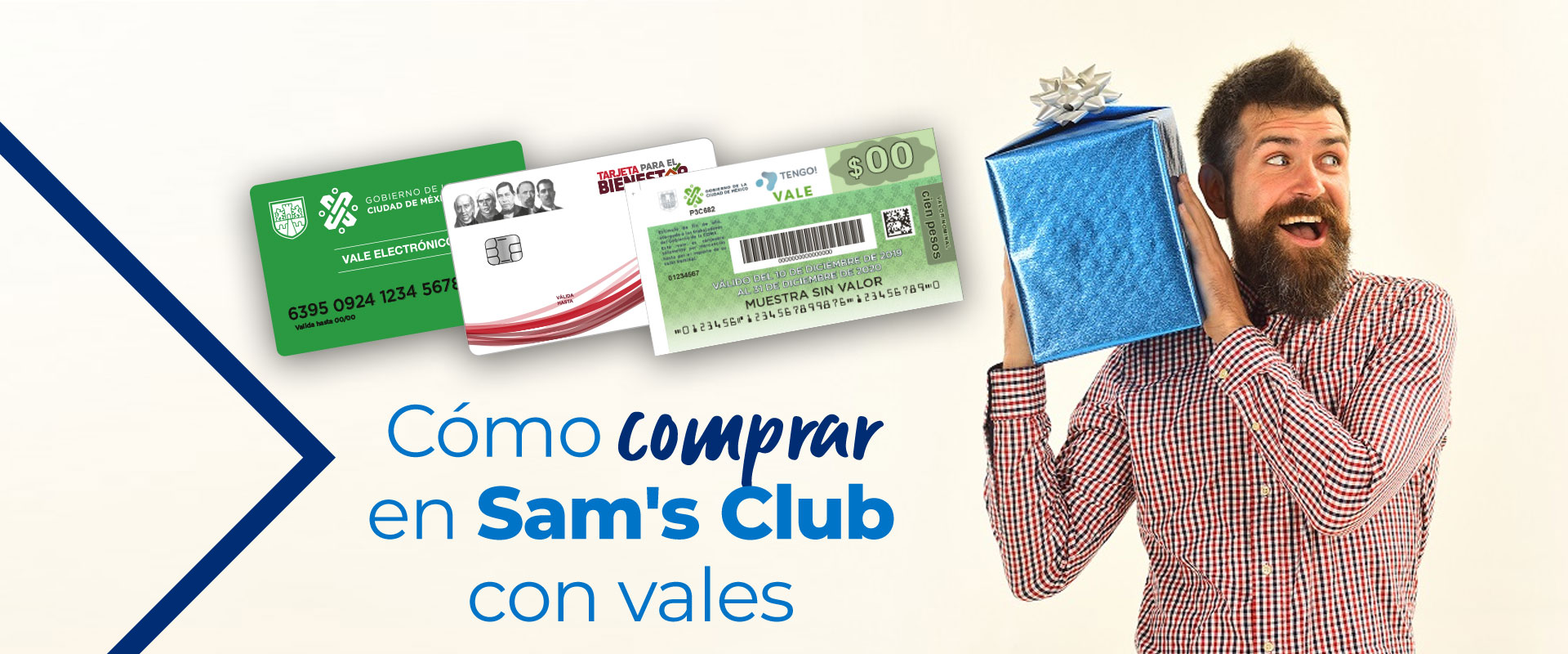 Cómo comprar en Sam's Club con vales