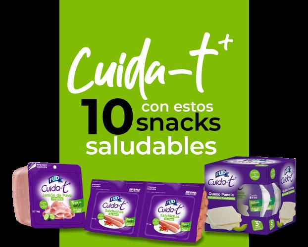 Cuida-t con estos 10 snacks saludables de Fud