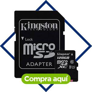 Memoria Micro SD 128 GB, Kingston