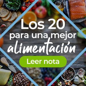 Los 20 para una mejor alimentación