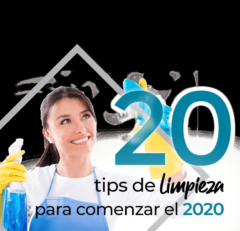 20 Tips de limpieza para comenzar el 2020