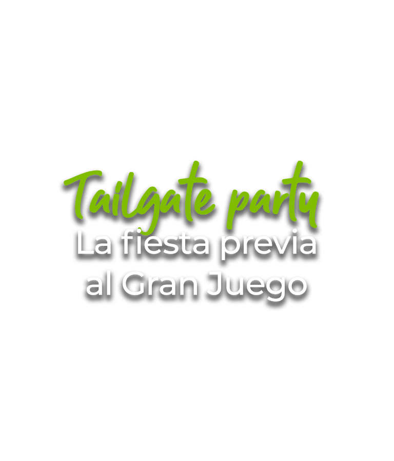 Tailgate party La fiesta previa del Super Bowl