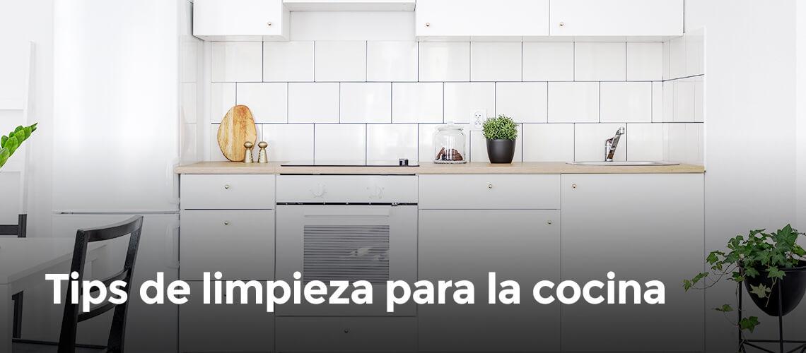 Tips de limpieza para la cocina