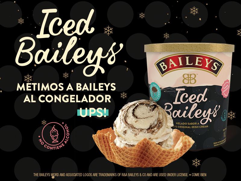 Anuncio helado baileys 1.8lt