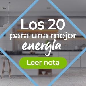 Los 20 para una mejor energía