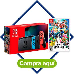 Consola Switch neón, Nintendo