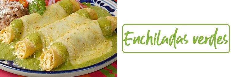 Enchiladas Verdes - Botón