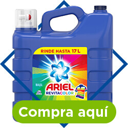 Detergente líquido Ariel Revita 8.5 L. - comprar
