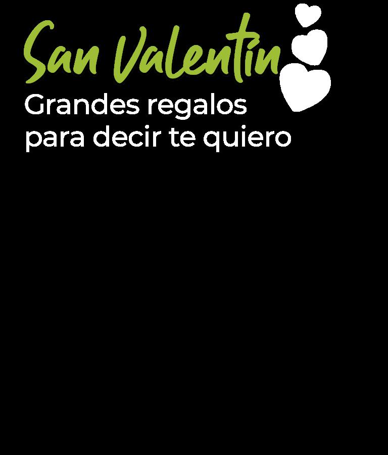 San Valentín. Grandes regalos para decir te quiero.
