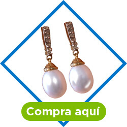 Aretes perla