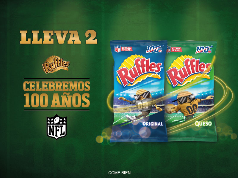 Takeover Ruffles NFL
