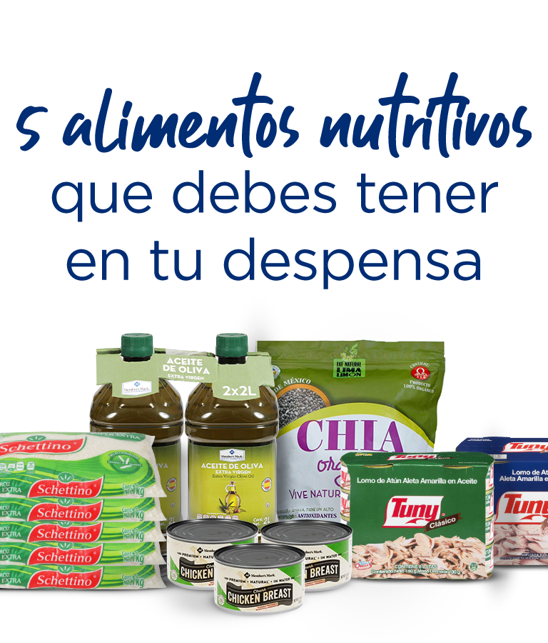5 alimentos nutritivos que debes tener en tu despensa