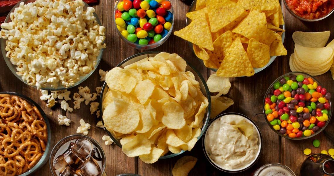 snacks para campamento