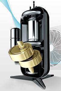 Compresor DUAL Inverter™