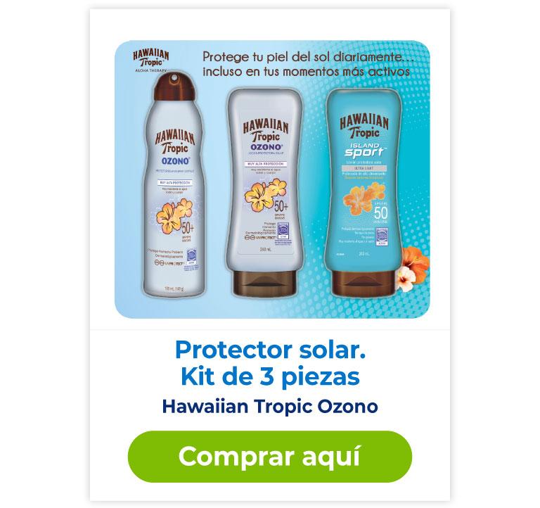 Protector solar Hawaiian Tropic ozono compra aquí