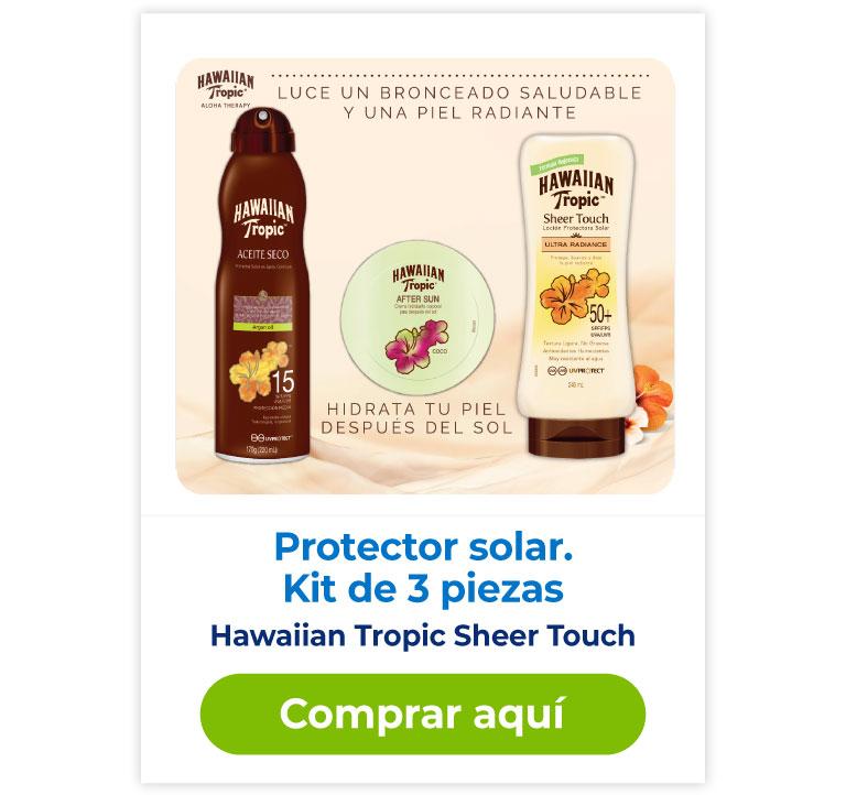 Protector solar Hawaiian tropic Sheer touch compra aquí
