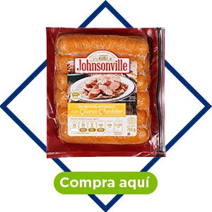Salchicha con queso cheddar, 793 g. Johnsonville