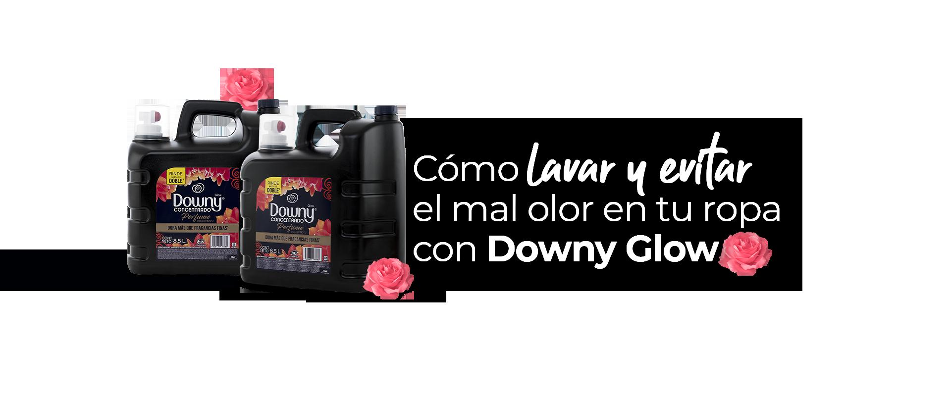 Cómo evitar el mal olor de tu ropa con Downy Glow