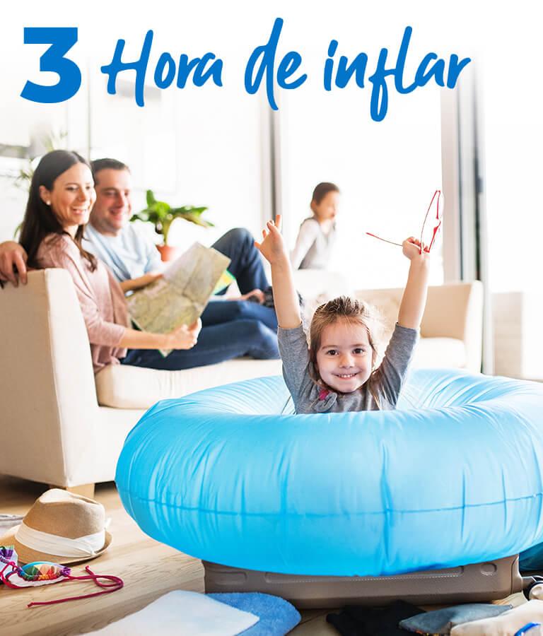 3 Hora de inflar