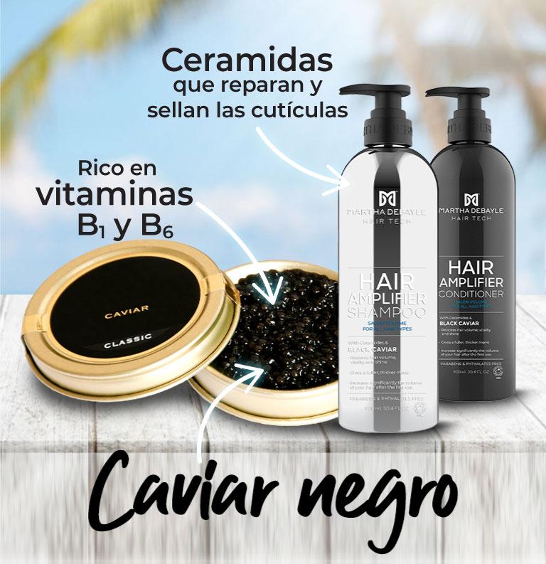 Shampoo caviar negro