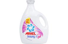 Detergente Líquido Ariel Toque Downy 4 l