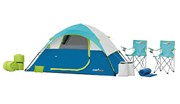 Combo campismo, 10 pzs. CampValley (980008012)