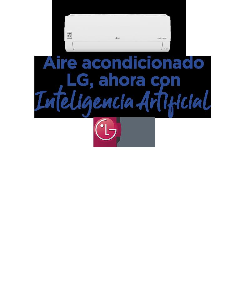 Aire acondicionado LG, ahora con Inteligencia Artificial