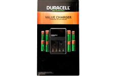 Cargador de pila, 6 pilas AA + 2 pilas AA, Duracell®