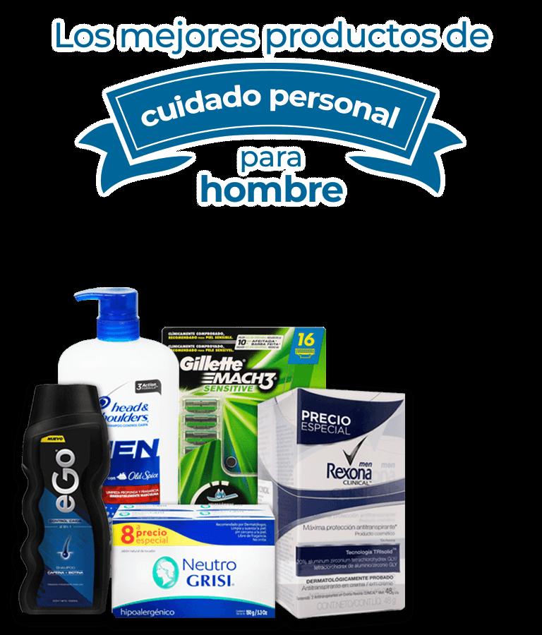 Los mejores productos de cuidado personal para hombre