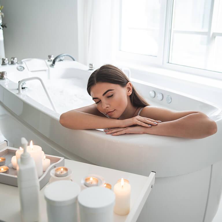 Baño liberador