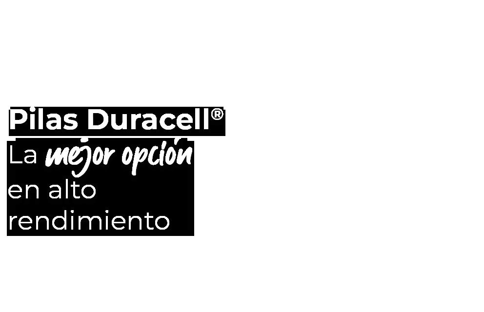 Pilas Duracell, la mejor opción en alto rendimiento