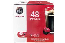 Cápsulas de Café Dolce Gusto Nescafé Americano 48 pzas