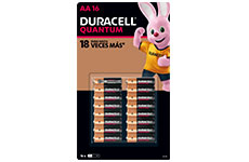Pila alcalina AA, 16 pzas, Duracell®
